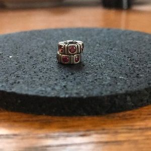 Pandora Red Spacer Charms